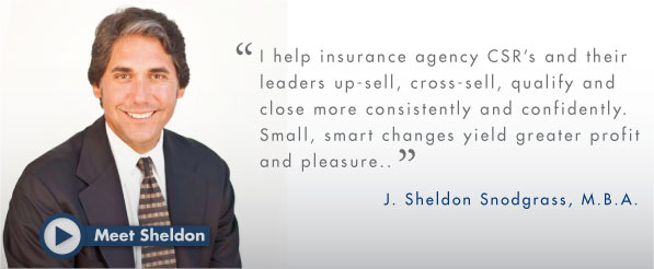 Sheldon Snodgrass, Sales Trainer and Coach